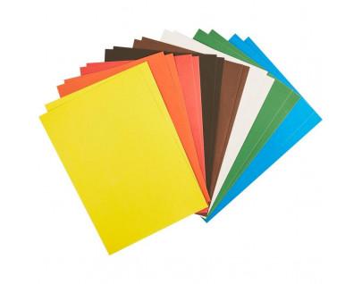 Бумага цветная, картон в ассортименте