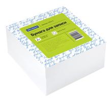 Блок для записи OfficeSpace 9*9*4,5см белый 1/18