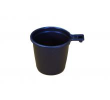 Чашка кофейная 0,2 коричн. 1/50/1500 МОПС