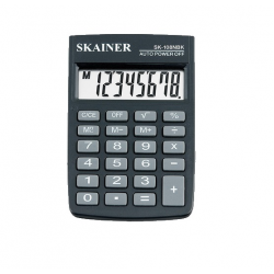 Кальк-р SKAINER SK-108NBK