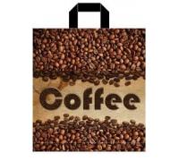 Пакет пет. 38*42 Кофе 1/50/500 ПВД 85мкм