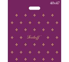 Пакет прор. 40*47 Лилия фиолетов. 90 мк С 1/50/500