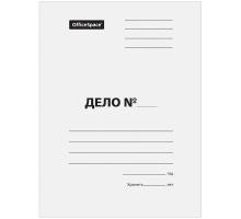 """Папка """"Дело"""" 300г Без скоросшивателя 1/200"""