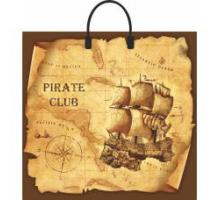 Сумка 34*37 Пиратский клуб