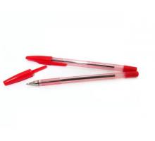 Ручка шар. AA927 с метал.нак. Beifa красн. 1/50