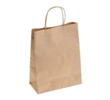 Пакет-сумка крафт 26+14*35 с кручен.ручк.1/250