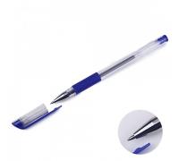 Ручка гел. Attomex синяя 0,5мм пр.кор.рез.дер.1/36
